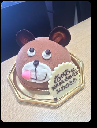 ポアールのケーキ