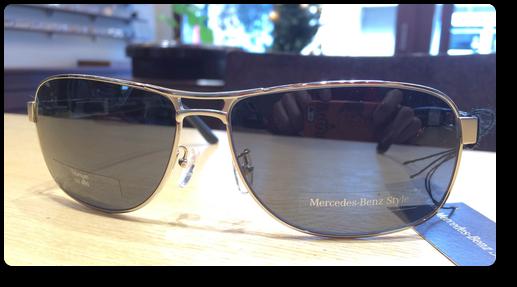 ローデンストックとメルセデスベンツがコラボしたサングラス