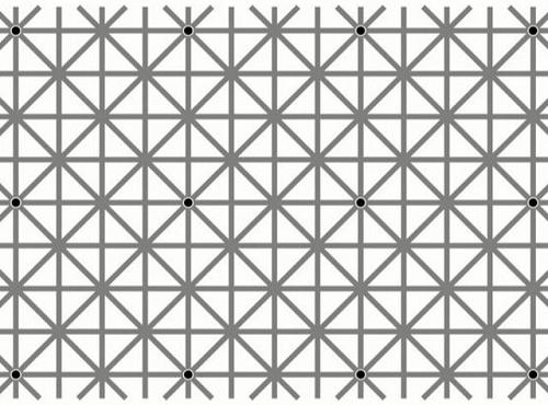 どうしても全部同時に認識できない12個の点