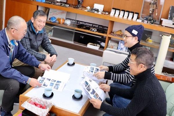2020-02-20 佐々木セルロイド工業所 佐々木 邦男社長高瀬部長1